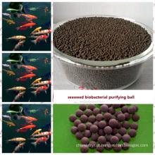 Bola de purificação biológica de algas feita por extrato de algas marinhas