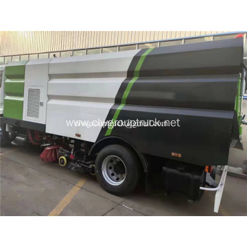 Cleaning and sweeper truck 4x2 vacuum street sweeper