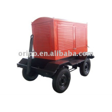 Anbau-Maschinen-Anhänger-Generator-Set mit Yangdong Diesel-Motor und Lead-Generator