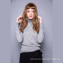 Reine kaschmir-pullover weibliche hohe kragen schulter, langarm strickpullover, 2017 herbst und winter neue unterhemd pullover dünne