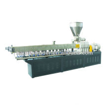 PP, PE, PS + amido/PE, EVA, ABS + preto de carbono extrusora granulador de masterbatch de enchimento
