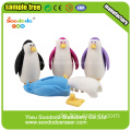 Red Penguin Cute Eraser.Animal Puzzle Promotion Radiergummi