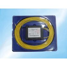 Tipo del ABS / divisor del PLC de la fibra óptica del mini tipo