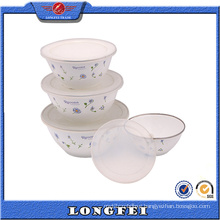 Best Selling Items 4 PCS Soup Bowl with Plastic Lid