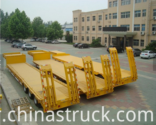 3 units Low bed trailer export to Ghana