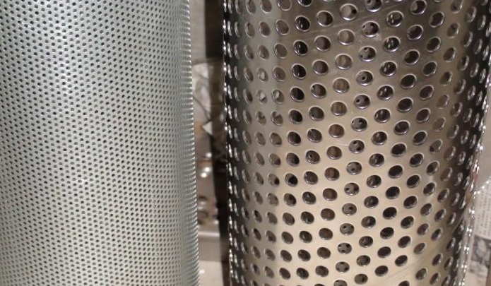 Powder Coated Perforated Metal Wire Mesh