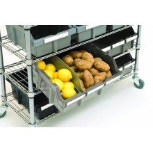 Barre d'étagère de rangement de cuisine de cuisine de restaurant