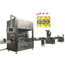 Automatic Palm Coconut Salad Sunflower Vegetable Olive Food Edible Cooking Oil Bottling Filling Machine
