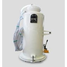 Sistema de eliminación de arena de granate abrasivo automático