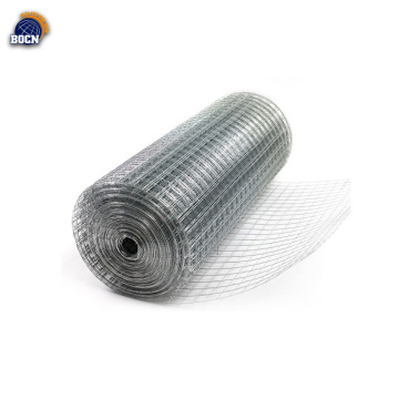 rollos de malla de alambre soldado electro galvanizado