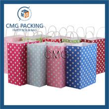 Kcraft Paper Medium Hot Pink Polka DOT Gift Bag