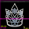 Christmas Snowflake Crowns Cheap Tiaras