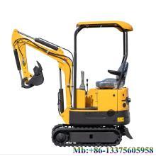 China mini excavator small excavator 0.8 ton excavator hammer