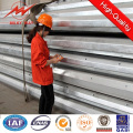 Galvanized 20m Electric Steel Power Pole