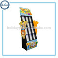 Hot Selling Corrugated Cardboard Floor Standing Poster Display Stand