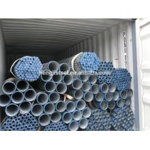 Tubo de acero al carbono soldado galvanizado Q235 ERW