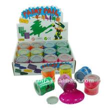 Brinquedo de limo de betume de barulho de pintura engraçada da novidade