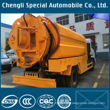 10000liters 10tons 4X2 High Pressure Drainage Cleaning Truck