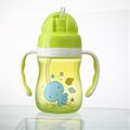 Copo de água de plástico para bebês