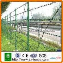Clôture de fer barbelé (fabriquée à Anping, Chine)