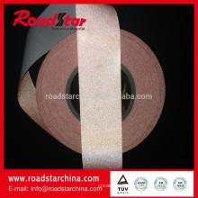 colores cinta reflexiva de la tela de TC para chaleco