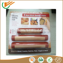 2015 Taixing Hot selling Nonstick lowest price Heat resistant fiberglass Non-stick silicone baking mat for oven