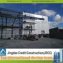 Projet de conception de structures en acier galvanisé