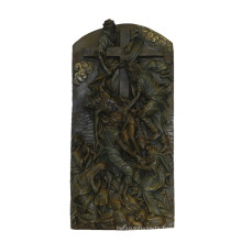 Relievo Brass Statue Bible Relief Carving Bronze Sculpture Tpy-843