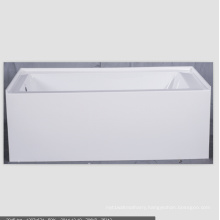 Bathtub Integral Apron Front Acrylic Bathtub