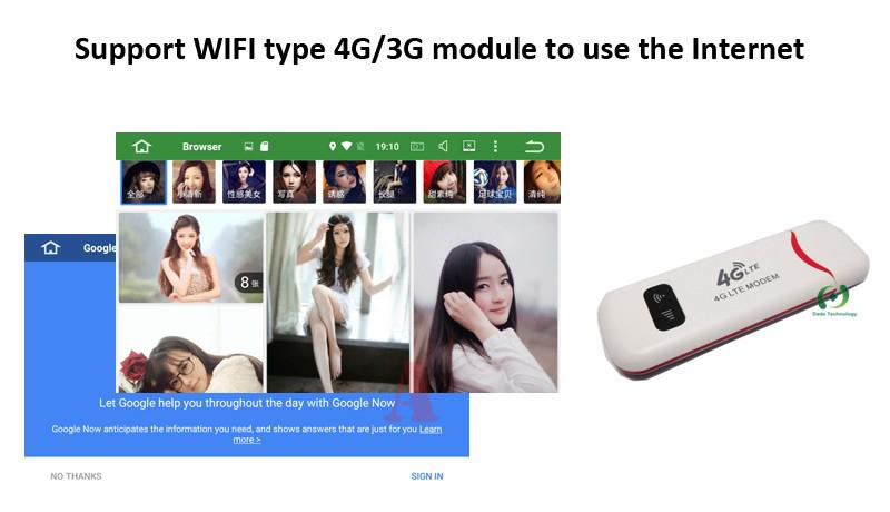 carmitek 2din 4G network