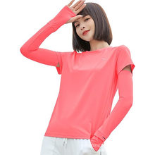 Upf50+ Tshirt and Arm Sleeves Set Women for Golf