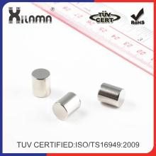 Kundenspezifischer dauerhafter Neodym-Zylinder-Magnet Starker seltener Erdmagnet