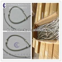 cable de seguridad de verificación látigo