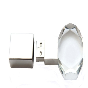 Custom Pendrive Transparent Crystal Flash Usb Flash Drive