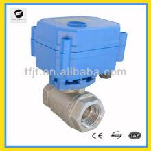 DC12V, AC220V Mini válvula eléctrica para equipos pequeños, tratamiento de agua, HVAC, sistema de control automático