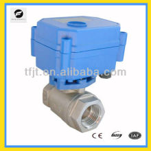 DC12V ,AC220V Mini Electric Valve For Small Equipment, water treatment, HVAC, automatic control system