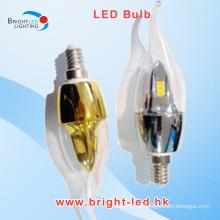 E14 5W SMD LED bombilla luz caliente blanco