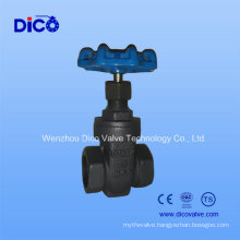 200psi Wcb Gate Valve with Screw End (DICO Brand)