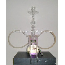 GH060-LT beautiful glass chicha hookah /shisha/nargile pipe/water pipe/with led light/sheesha/narguile
