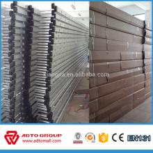 Andamio de la escalera de aluminio al por mayor del OEM EN131, escalera de la construcción