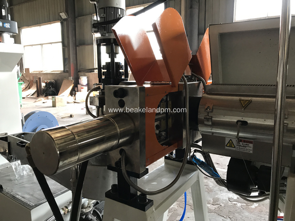 PP PE film double stage pelletizing line