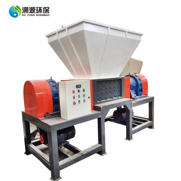 Machine de déchiquetage de métal en plastique