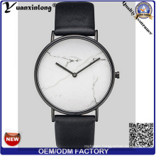 Yxl-273 Hot Sale Marble Face Watch Vogue Fashion Wrist Watch Lady Pormotion Leather Watch Wholesale Factory