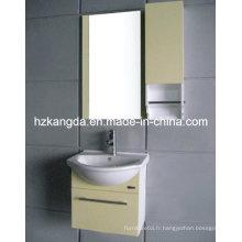 Cabinet de salle de bains en PVC / vanité de salle de bain en PVC (KD-299A)