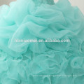 China supplier Custom made sleeveless puffy wedding dress 2017 cheap price floort length green color korean style wedding dress
