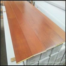 Plancher en bois d'ingénierie Merbau avec laque UV