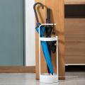 Simple Design Steel Stand Entryway Space Saving Umbrella Holder Organizer for Indoor