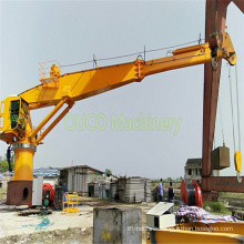 Electric Hydraulic Marine Deck Telescopic Boom Crane