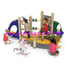 2014 New Design! Creative Wooden Theme Park Playground/Educational Children Playground Equipment/Play Structure Outdoor Playground Equipment