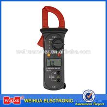 Pinza amperimétrica digital DT202 con amperímetro de retención de datos de rango automático